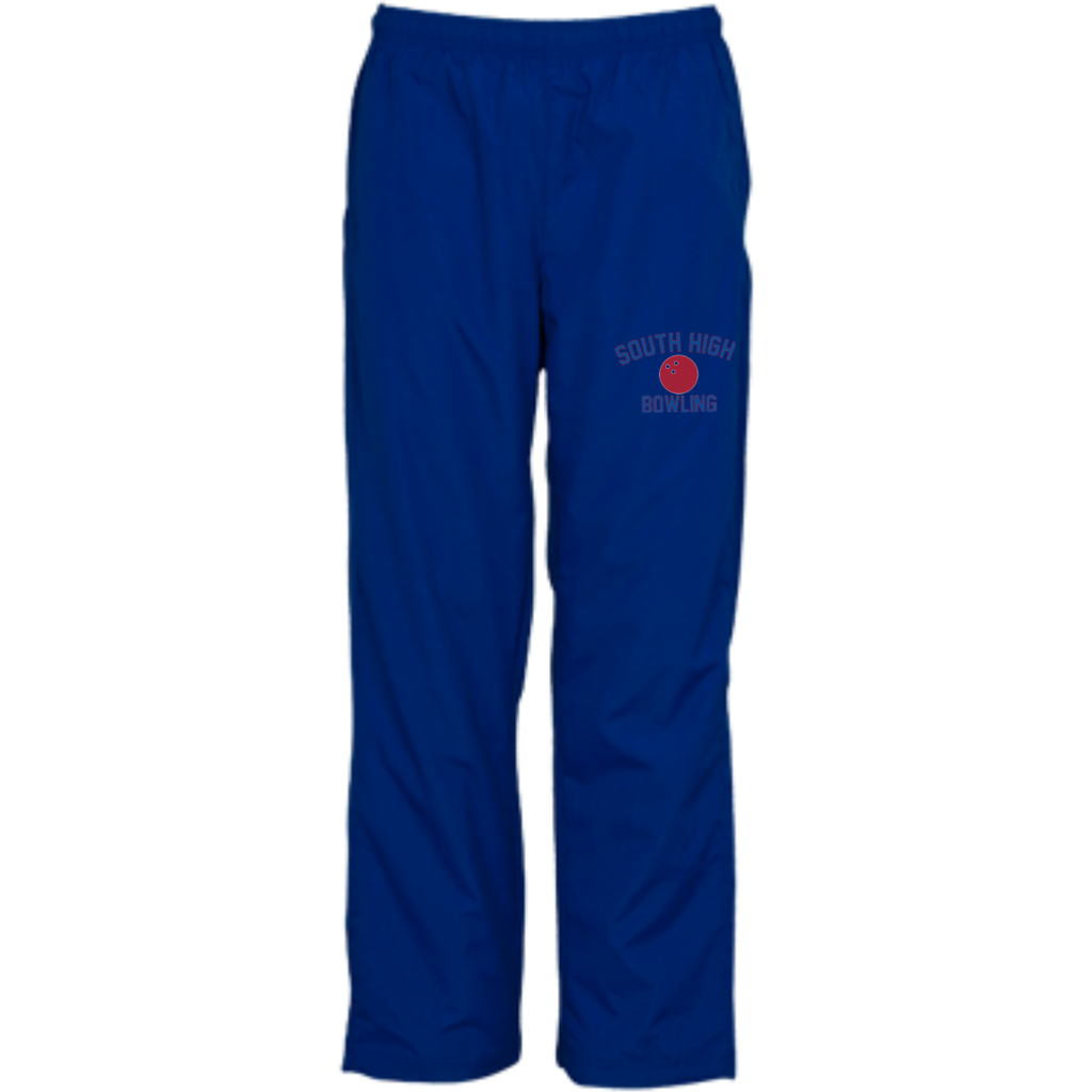 Bowling Vector Logo Outline_Pantone YPST74 Sport-Tek Youth Wind Pant