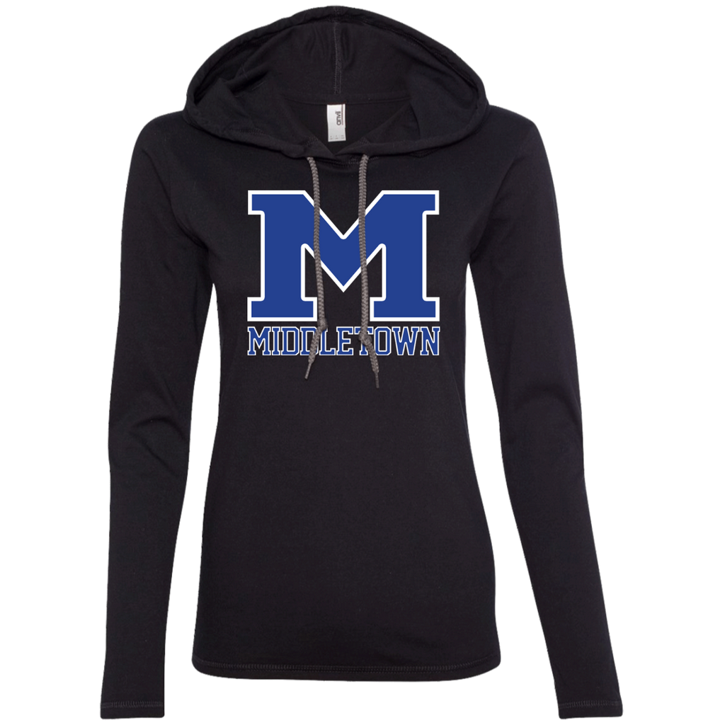 "Women's T-Shirt Hoodie - Middletown ""M"""