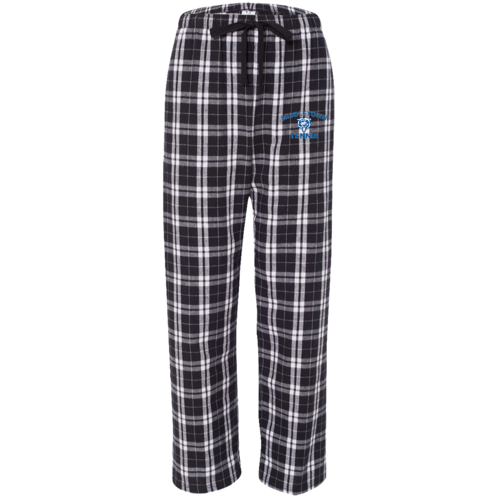 Flannel Pants - Middletown Tennis - Bear Logo