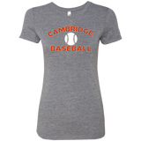 Women's Premium T-Shirt - Cambridge Baseball