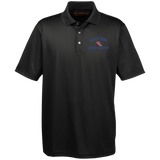 Men's Solid Moisture Wicking Polo - South Glens Falls Cross Country