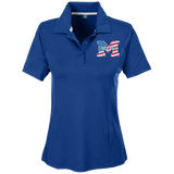 Women's Solid Polo - Middletown American Flag