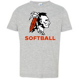 Toddler T-Shirt - Cambridge Softball - Indian Logo