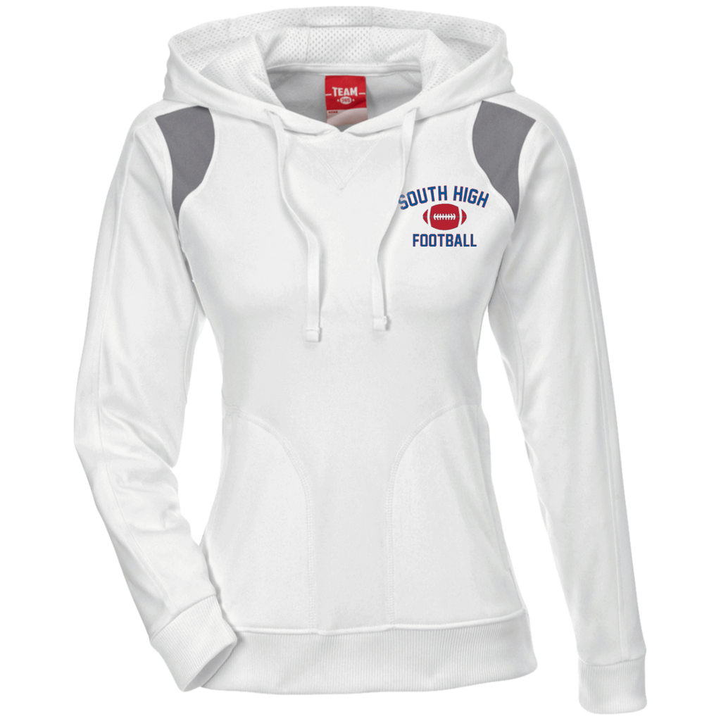 Women's Colorblock Hooded Sweatshirt - South Glens Falls Football