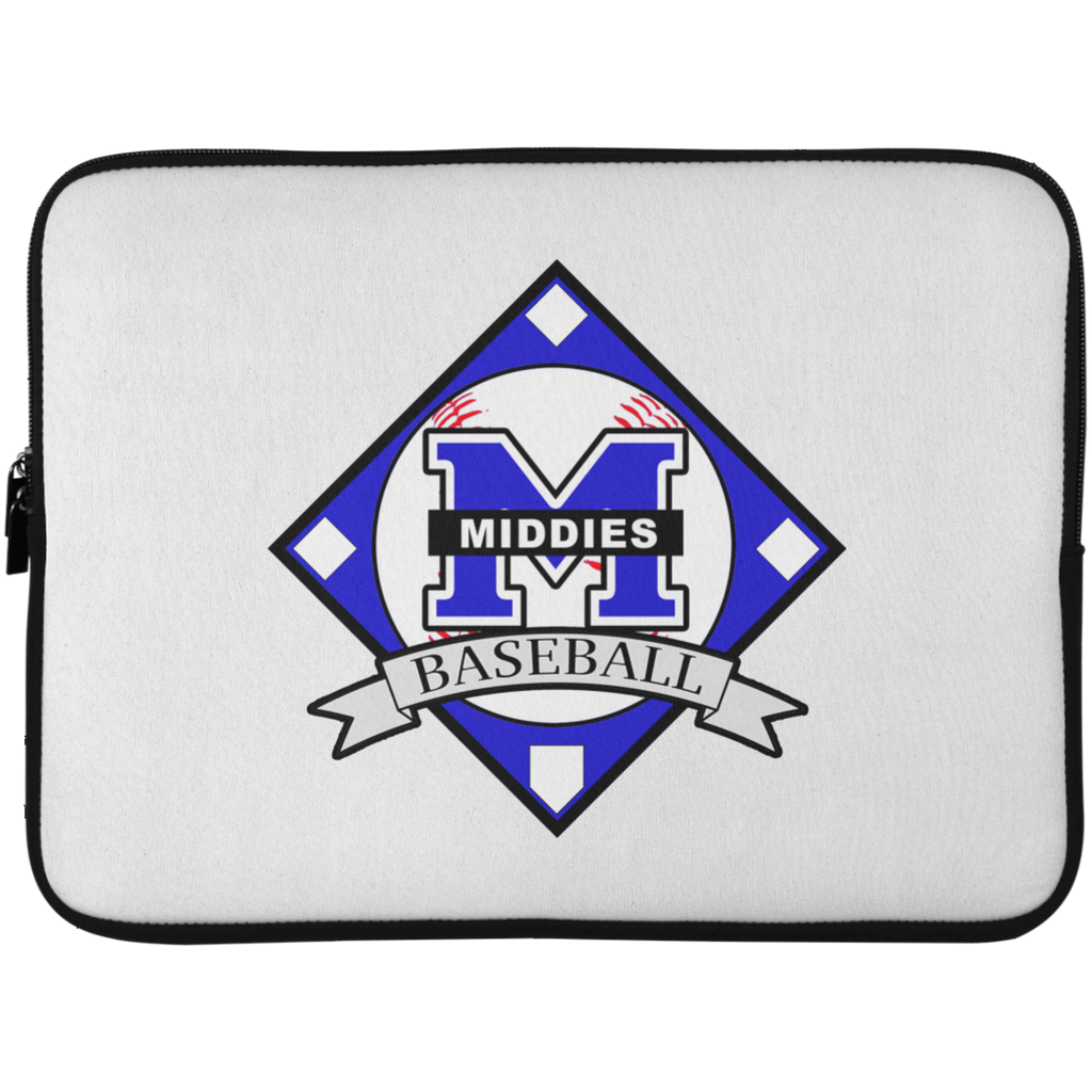 Laptop Sleeve - 15 Inch - Middletown Baseball - Diamond Logo