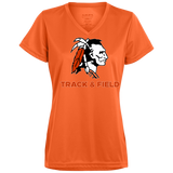 Women's Moisture Wicking T-Shirt - Cambridge Track & Field - Indian Logo