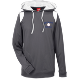 Men's Colorblock Hooded Sweatshirt - South Glens Falls Baseball