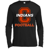 Men's Moisture Wicking Long Sleeve T-Shirt - Cambridge Football - C Logo