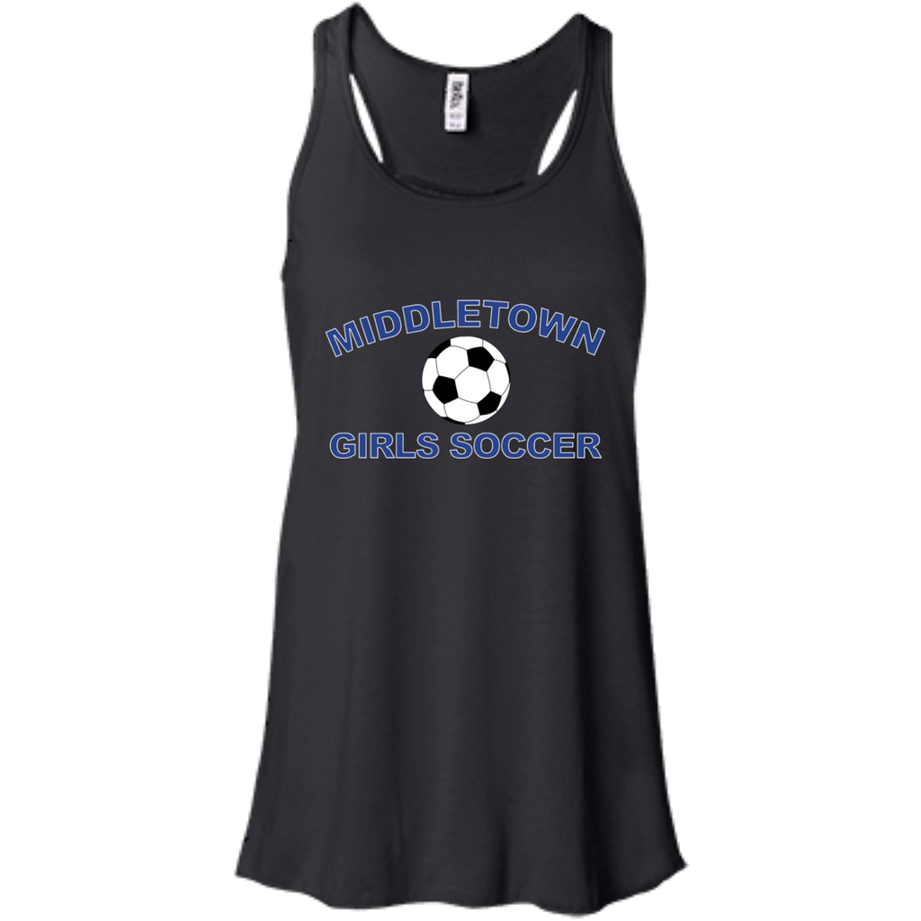 Women's Racerback Tank Top - Middletown Girls Soccer