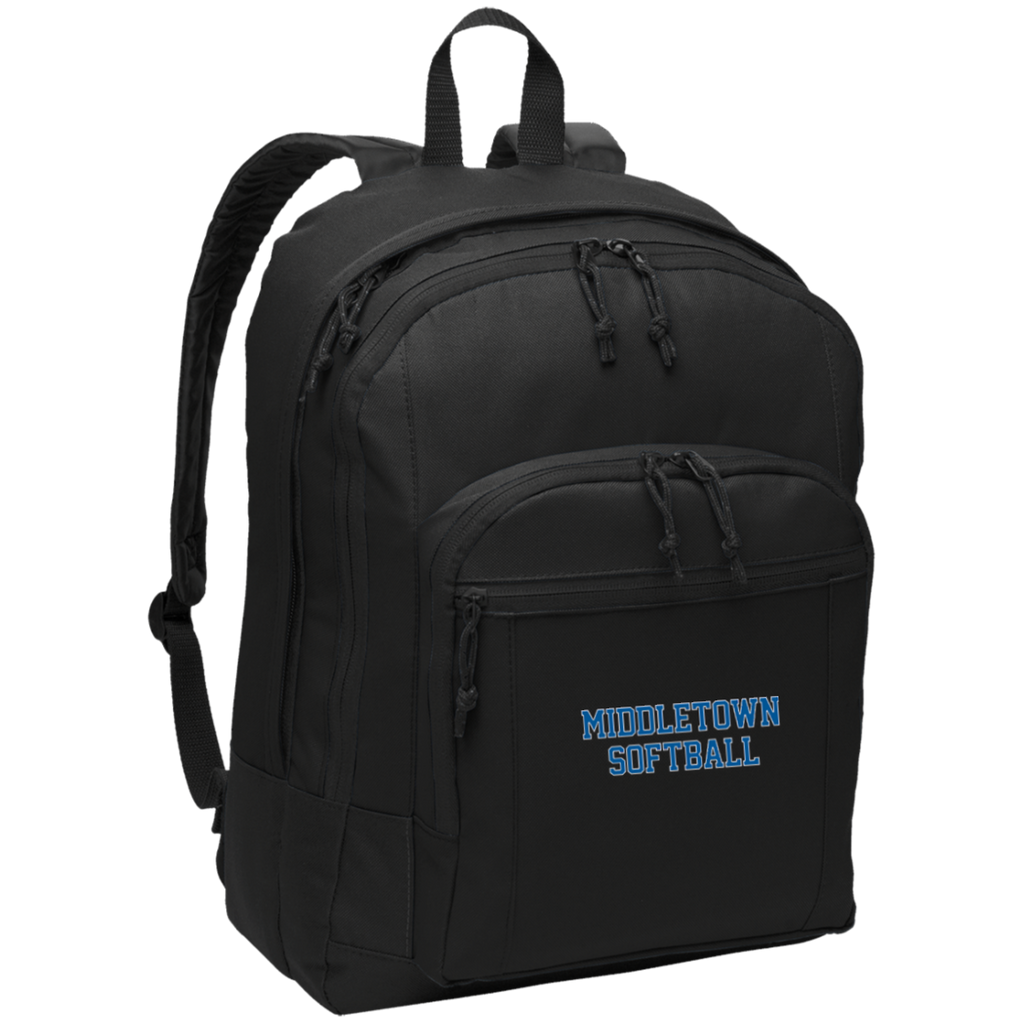 Backpack - Middletown Softball - Block Logo
