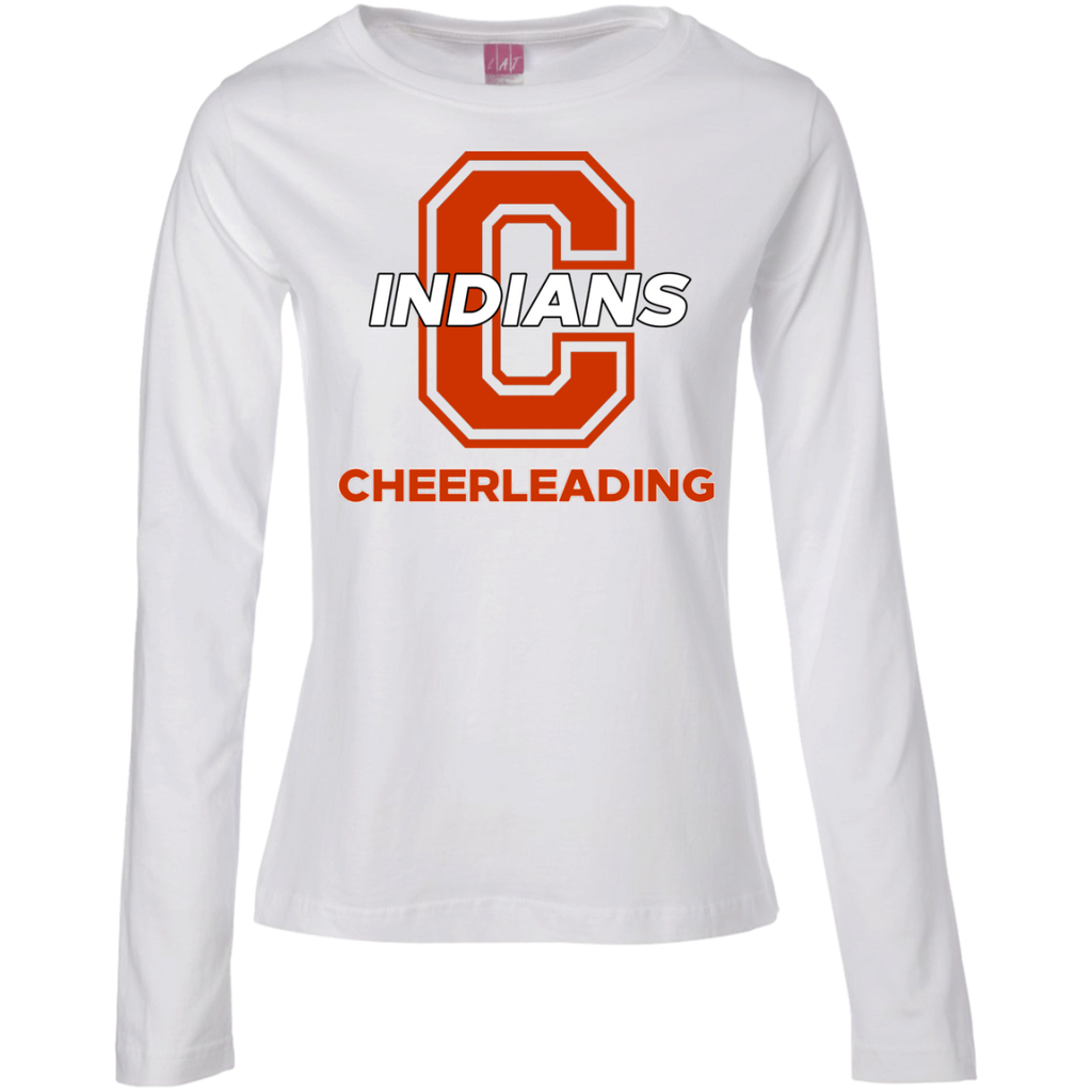 Women's Long Sleeve T-Shirt - Cambridge Cheerleading - C Logo