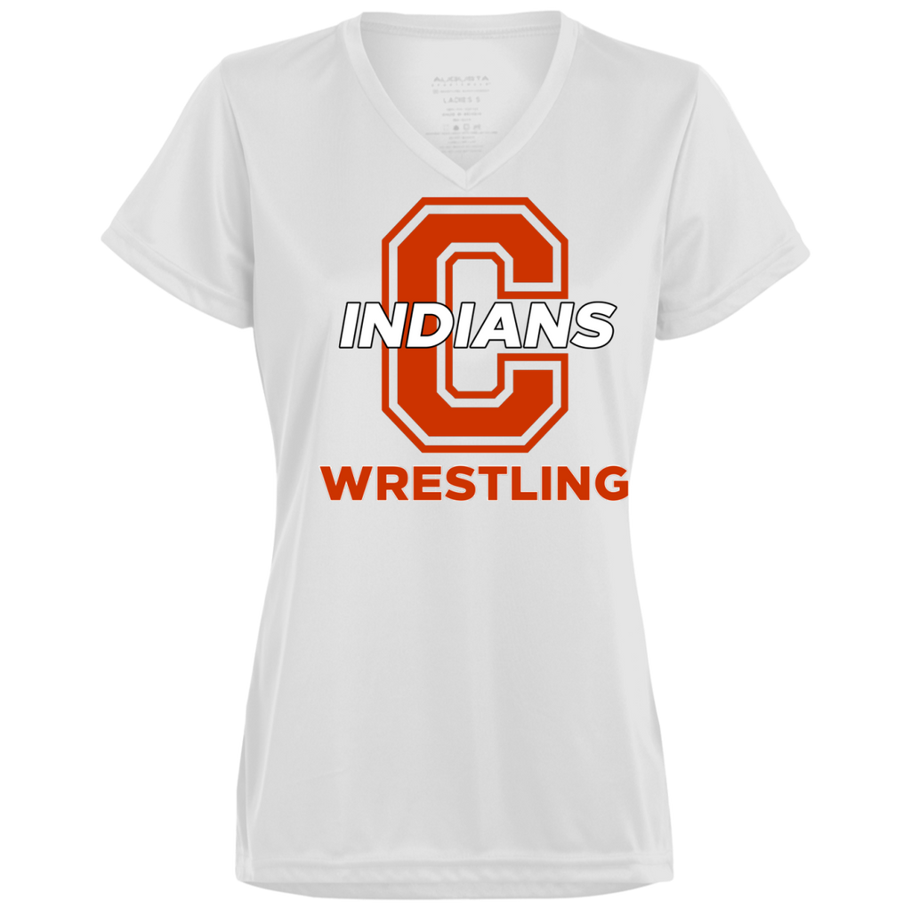 Women's Moisture Wicking T-Shirt - Cambridge Wrestling - C Logo