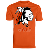 Men's Moisture Wicking T-Shirt - Cambridge Golf - Indian Logo