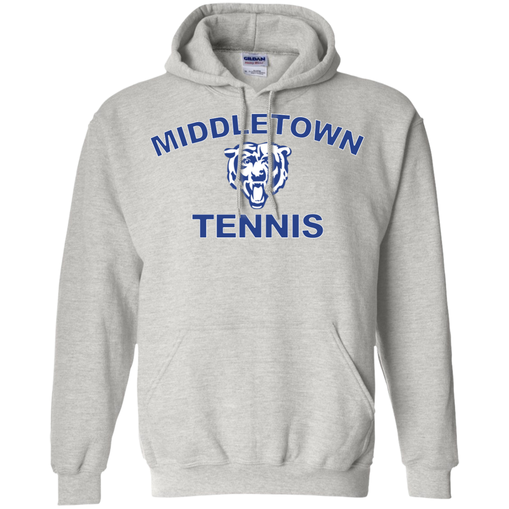Men's Hooded Sweatshirt - Middletown Tennis - Bear Logo
