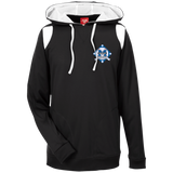 Men's Colorblock Hooded Sweatshirt - Middletown Baseball - Diamond Logo