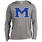 Heather Colorblock Long Sleeve T-Shirt - Middletown Block