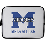 Laptop Sleeve - 10 inch - Middletown Middie Girls Soccer