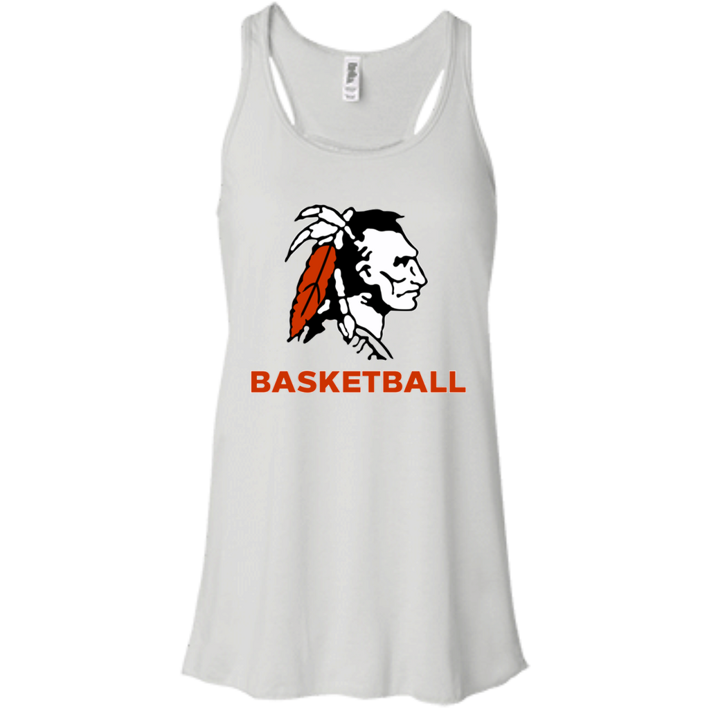 Women's Racerback Tank Top - Cambridge Basketball - Indian Logo
