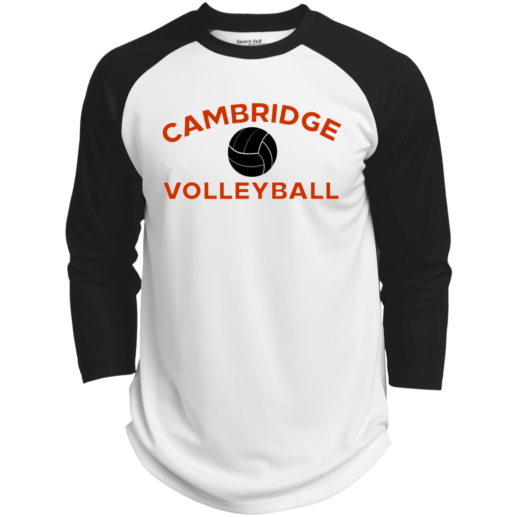 3/4 Sleeve Baseball T-Shirt - Cambridge Volleyball