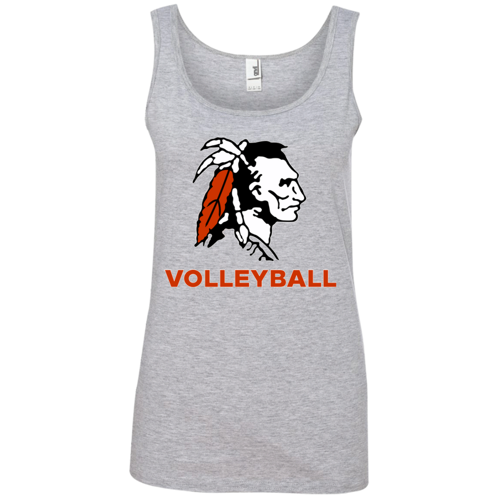 Women's Tank Top - Cambridge Volleyball - Indian Logo