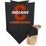 Doggie Bandana - Cambridge Cheerleading - C Logo