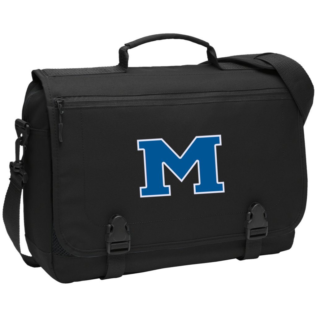 "Messenger Bag - Middletown Block ""M"""
