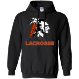 Men's Hooded Sweatshirt - Cambridge Lacrosse - Indian Logo