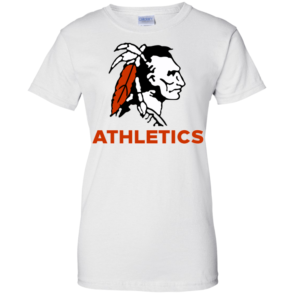 Women's Cotton T-Shirt - Cambridge Athletics - Indian Logo