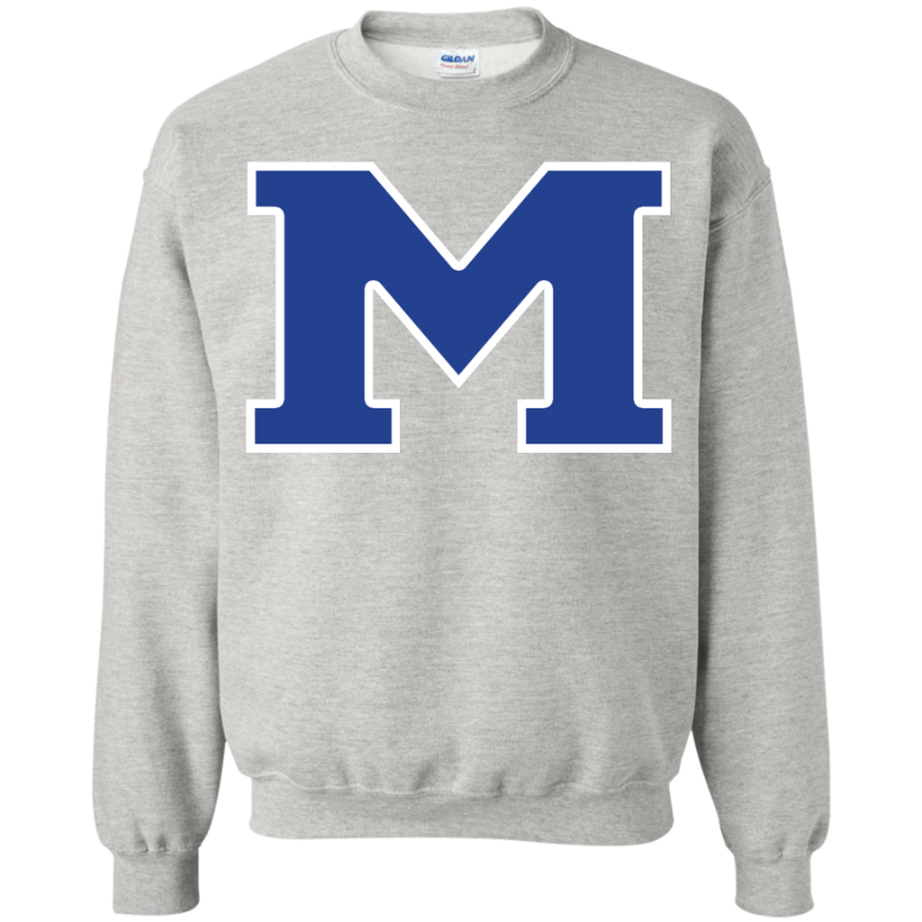 "Crewneck Sweatshirt - Middletown Block ""M"""