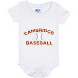 Baby Onesie 6 Month - Cambridge Baseball