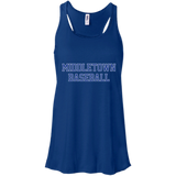Women's Racerback Tank Top - Middletown Baseball