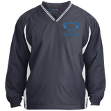 Colorblock V-Neck Pullover - Middletown Girls Lacrosse - Sticks Logo