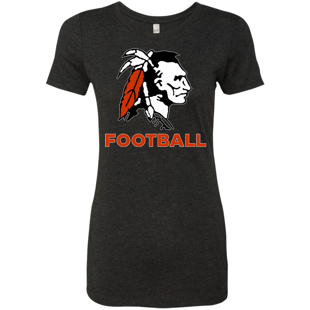 Women's Premium T-Shirt - Cambridge Football - Indian Logo
