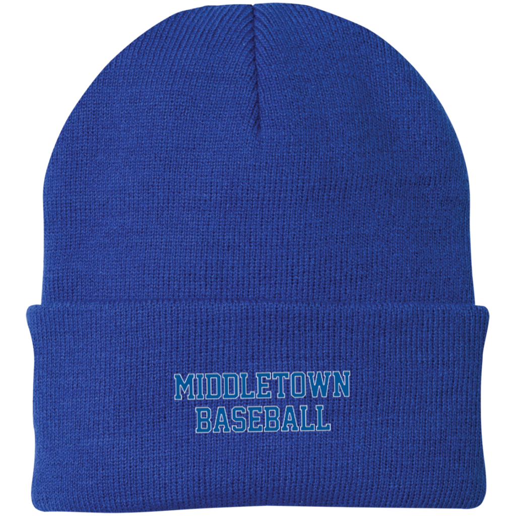 Knit Winter Hat - Middletown Baseball