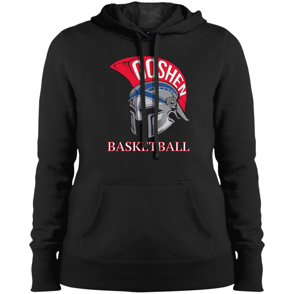 Women's Hooded Sweatshirt - Goshen Basketball