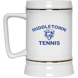 22 oz. Stein - Middletown Tennis - Bear Logo