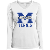 Women's Moisture Wicking Long Sleeve T-Shirt - Middletown Tennis