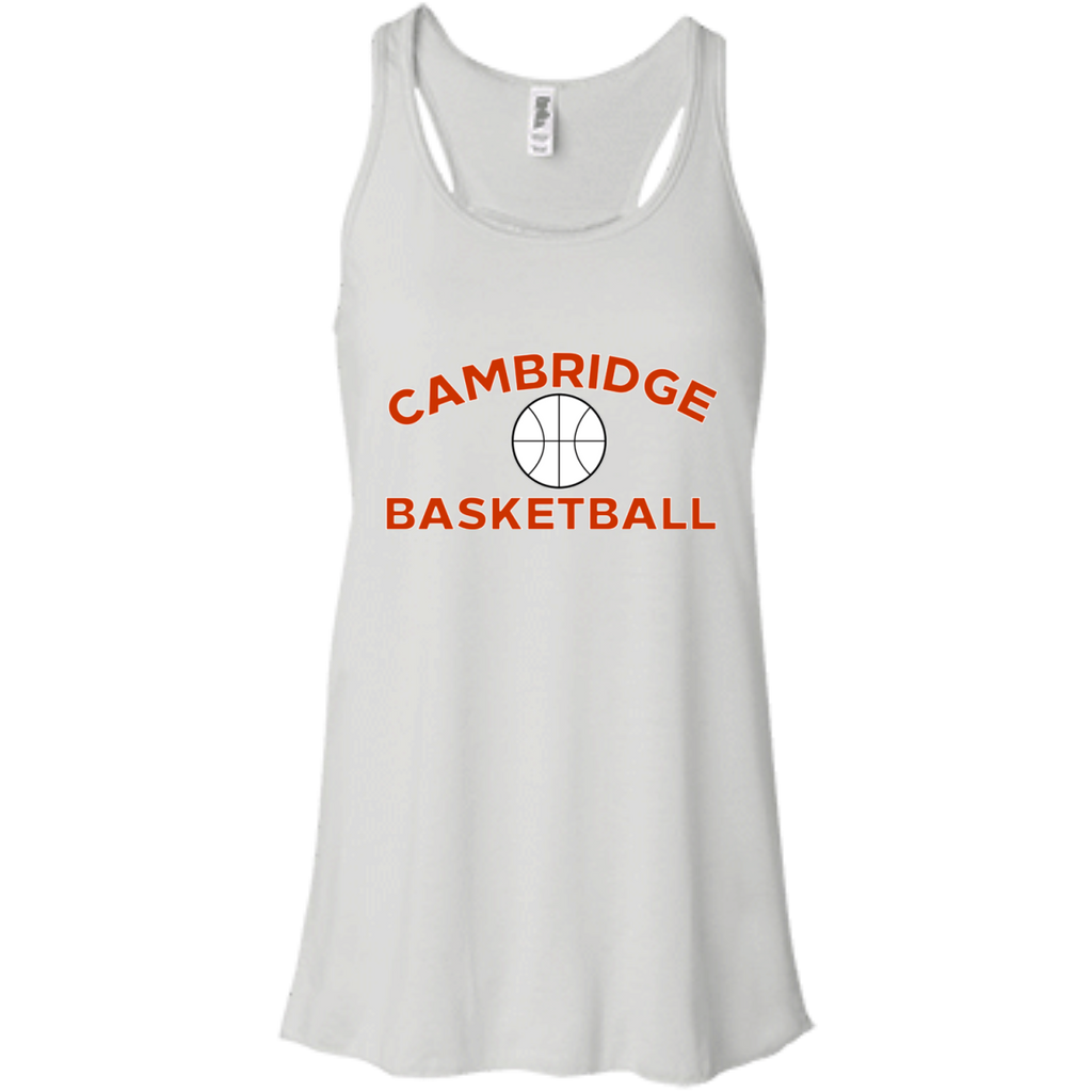 Women's Racerback Tank Top - Cambridge Basketball
