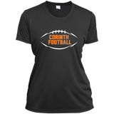 Women's Moisture Wicking T-Shirt - Corinth Football