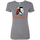 Women's Premium T-Shirt - Cambridge Volleyball - Indian Logo
