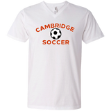 Men's V-Neck T-Shirt - Cambridge Soccer