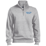 Men's Quarter Zip Sweatshirt - Middletown Softball - Block Logo
