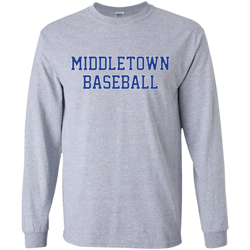 Youth Long Sleeve T-Shirt - Middletown Baseball