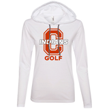Women's T-Shirt Hoodie - Cambridge Golf - C Logo
