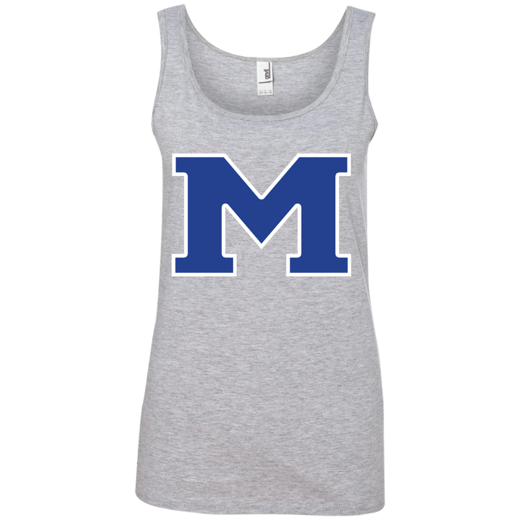 "Women's Tank Top - Middletown Block ""M"""
