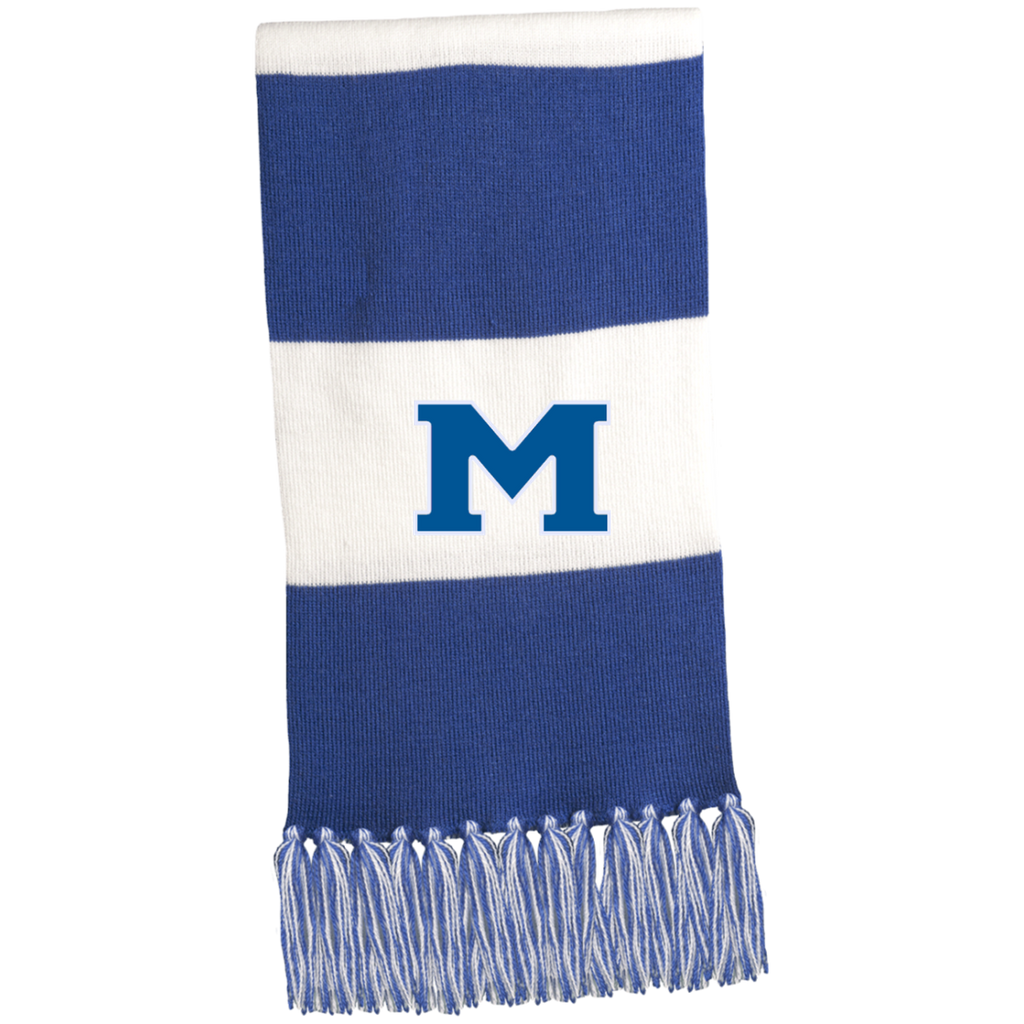"Scarf - Middletown Block ""M"""
