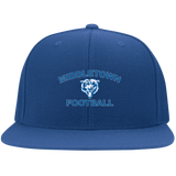 Flex Fit Twill Hat w/ Flat Bill - Middletown Football