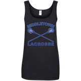 Women's Tank Top - Middletown Girls Lacrosse - Sticks Logo