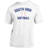 Youth Moisture Wicking T-Shirt - South Glens Falls Softball