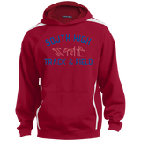 Colorblock Hooded Sweatshirt - South Glens Falls Track & Field